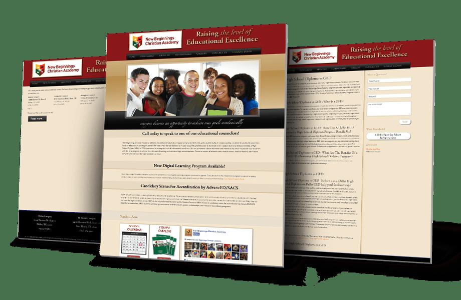 Academic / Education Website Design