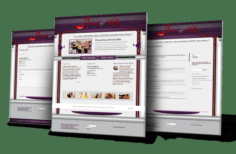 Sports & Fitness Website Design