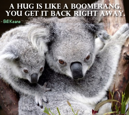 Quote of the Day - Who Needs A Hug?