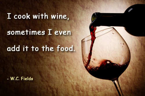 Quote of the Day - Cooking With Wine