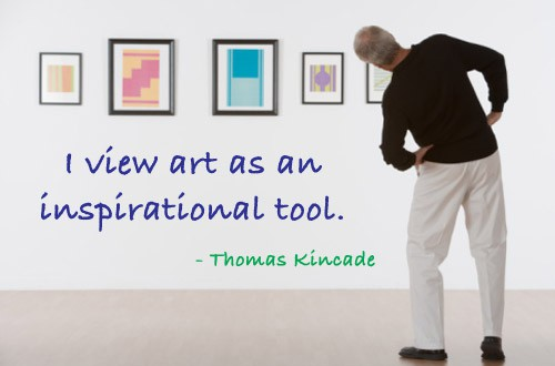 Quote of the Day - Art Equals Inspiration