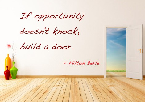 Quote of the Day - Building Opportunity